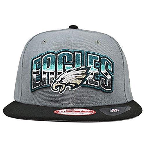 コミット衣装前にPhiladelphia Eaglesシェーディングスナップバック9 Fifty New Era NFL帽子= OSFM