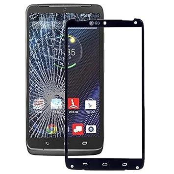 Piezas de repuesto de teléfonos móviles, para Motorola Moto Turbo / XT1254 / XT1225 pantalla delantera lente de cristal externa: Amazon.es: Electrónica