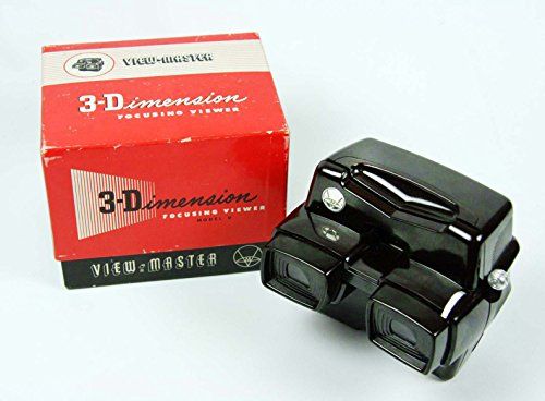 ViewMaster Model D -Deluxe Focusing Viewer - For Discriminating Enthusiast (Viewmaster Model E)