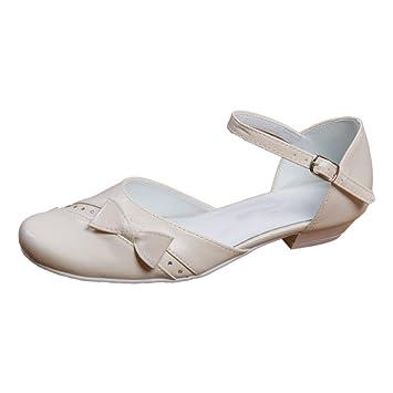 best sneakers e82b2 a6bf5 Kommunionschuhe Kinderschuhe für Mädchen Ballerina creme ivory Mod. 315 (33)