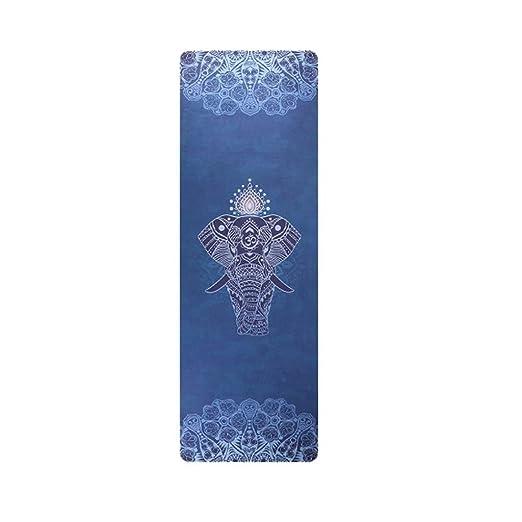 WJGJ Yoga Mat - Caucho Natural Eco Friendly Yoga Mat Extra ...