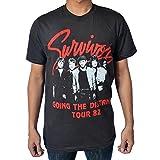 Rockstar55 Survivor Band Going The Distance Tour 82 T Shirt Small Black