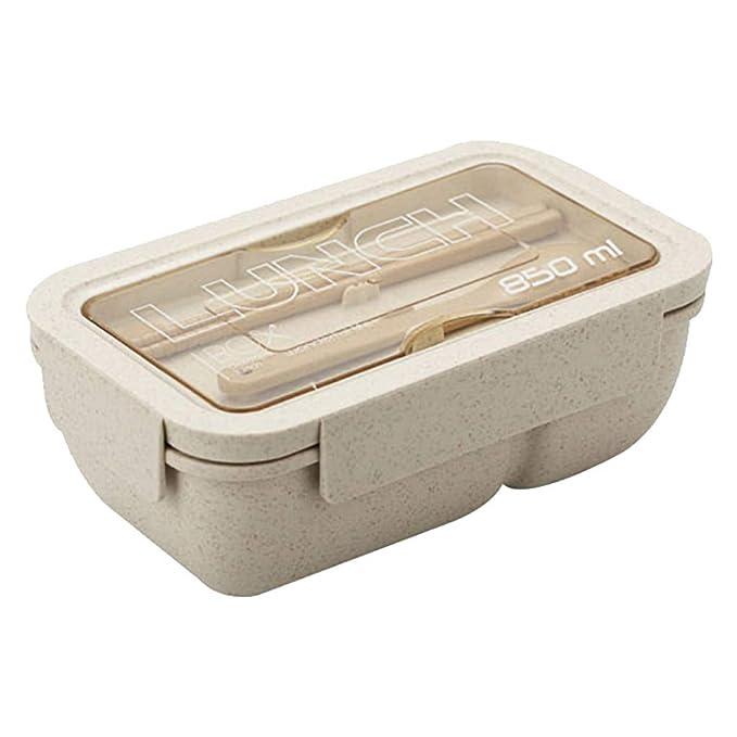 Mymyguoe Caja de Almuerzo Caja de Almacenamiento de Frutas ...