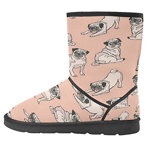 Snow Stivali Da Donna Di Interestprint Stivali Invernali Comfort Dal Design Unico 12