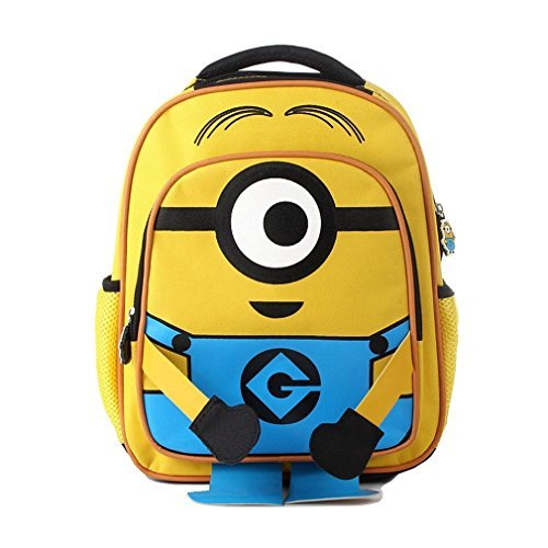 KingMountain Despicable Me Minions School Backpacks (Small Kids Pitcher compare prices)