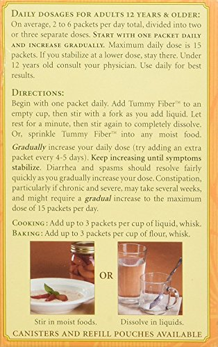 Heather's Tummy Fiber Organic Acacia Senegal Travel Packets (4 Boxes) by Heather's Tummy Care (Image #3)