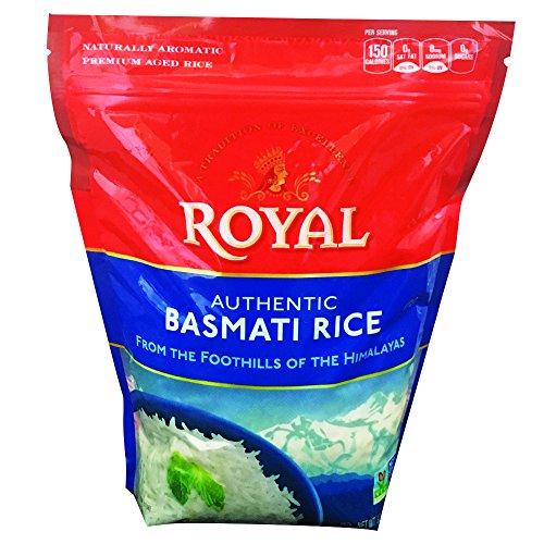 Royal White Basmati Rice, 2 Pound by Kusha