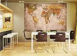 GREAT ART XXL Poster World map photo wallpaper