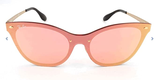 RAY-BAN 3580n Gafas de sol, Marrón, 49 para Mujer: Amazon.es ...