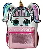 "LOL Large 16"" Unicorn Sequin Backpack New with Tags"