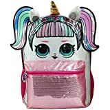 """LOL Large 16"""" Unicorn Sequin Backpack New with Tags"""