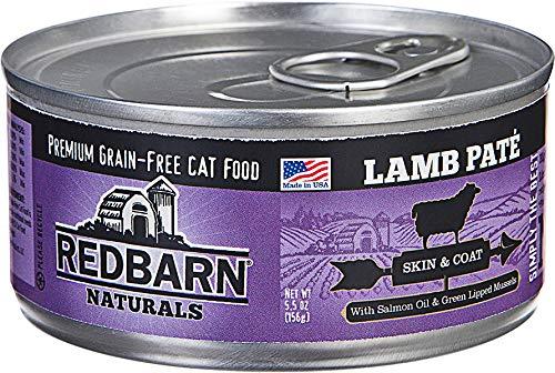 REDBARN Pate Skin Coat Cat Food Lamb (5.5 oz) by REDBARN