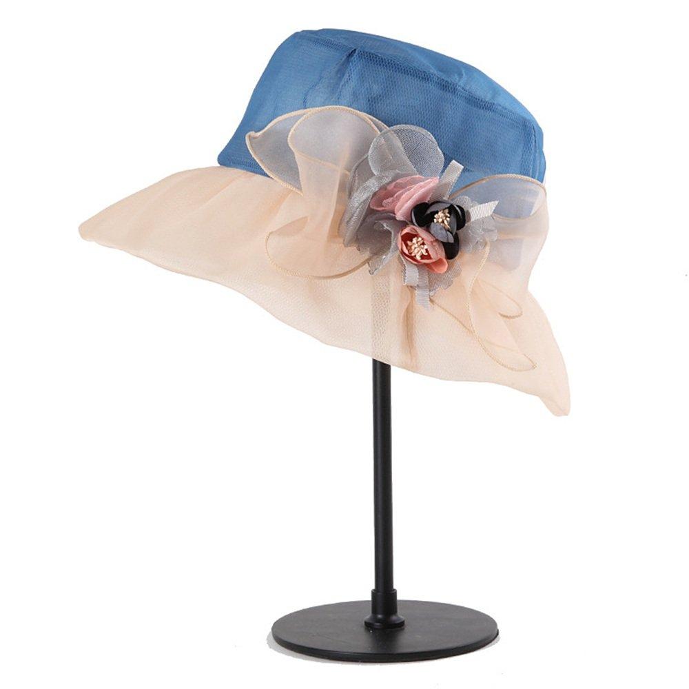 Shuo lan hu wai Sommerhut für Damen aus Seide, gefaltet zum Schutz vor Wind und UV