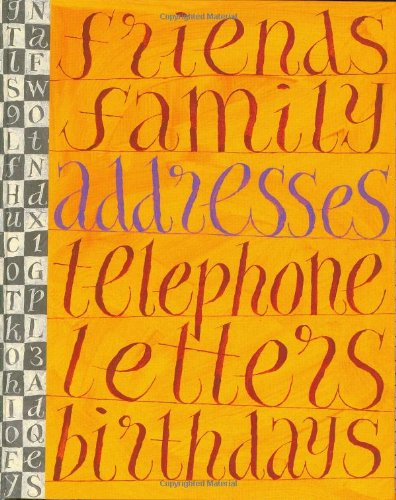 (A Literary Address Book (Stay in Touch))