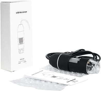 Microscopio de mano digital USB para ordenador/smartphone,Roeam ...