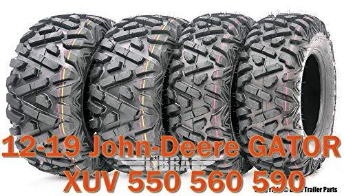 Set 4 WANDA ATV Tires 25X8X12 25X10X12 fit 12-19 John-Deere GATOR XUV 550 560 590 Bighorn Style