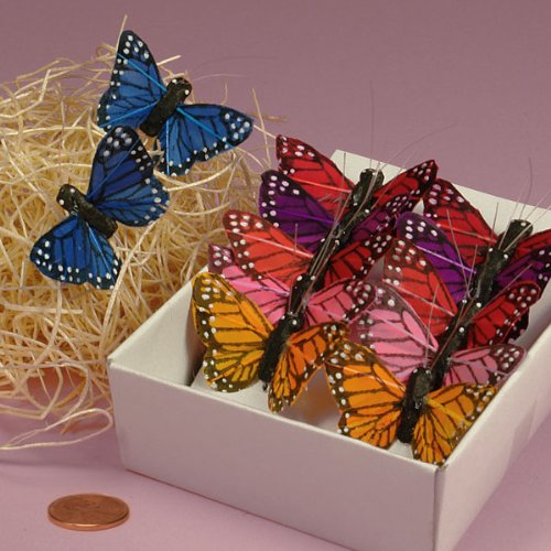 Assorted Monarch Butterflies, (Butterfly Craft)