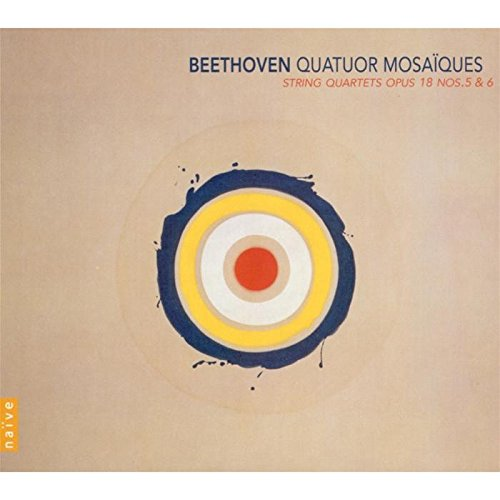 Price comparison product image Beethoven: String Quartets, opus 18, Nos. 5 & 6