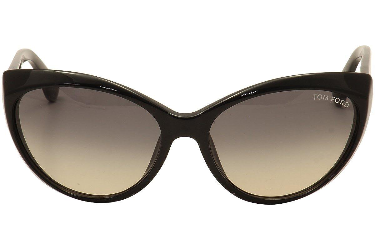 b28217a642 Amazon.com  Tom Ford Sunglasses TF231 Martina 01B Shiny Black 231  Shoes