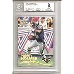 3400cf374b8 Priest Holmes Kansas City Chiefs / Baltimore Ravens 1998 Paramount Graded  Rookie.
