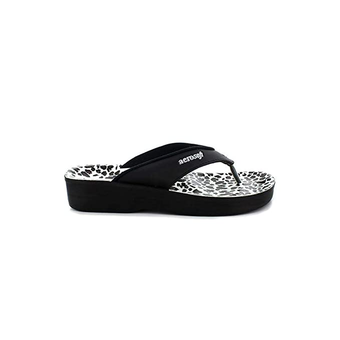 : Aerosoft Flip Flops for Women, Arch Supportive