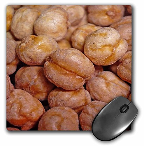 3dRose 8 x 8 x 0.25 Inches Chickpeas Brown Contemporary Food Fruit Kitchen Art Leblebi Mouse Pad (mp_46830_1) (Contemporary Food)