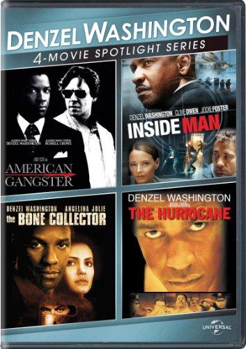 Denzel Washington 4-Movie Spotlight Series (Box Set Washington Denzel)
