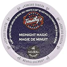 Timothy's World Midnight Magic Extra Bold Coffee K-Cups for Keurig Brewers 96 Count