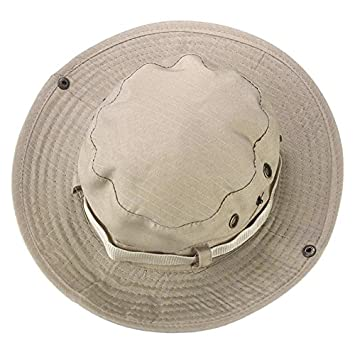 Unisex Bucket Hat Boonie Hunting Fishing Outdoor Cap Men Camo Wide Brim Military