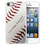 i phone 5c marvel cases - TD LLC -Philippians 4:13 Softball Baseball Basketball Christian-Rubber Case for Apple iPhone 5C, Made in the USA, Includes 2 screen Protectors. Includes 2 front screen protectors. Style 22