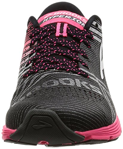 069 Scarpe da Diamond Black Yarn Corsa Pink Donna Multicolore Brooks Hyperion Diva 1w6Fq5qP