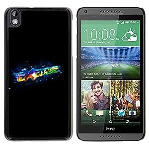 Be Good Phone Accessory // Dura Cáscara cubierta Protectora Caso Carcasa Funda de Protección para HTC DESIRE 816 // Exchange