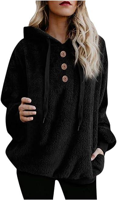 Womens Sweatshirt Zip Jacket Coat Hoodie Jumper Plain Fleece Hooded Hoody Tops