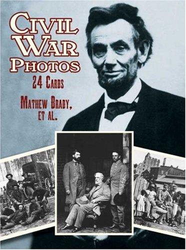 (Civil War Photos: 24 Cards (Dover Postcards))