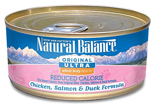 Natural Balance Original Ultra Reduced Calorie Cat Food (Pack of 24 6-Ounce Cans)