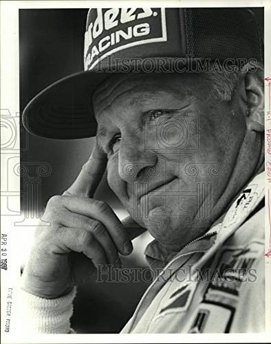 1987 Press Photo Cale Yarborough, Former NASCAR Driver - ahta02640