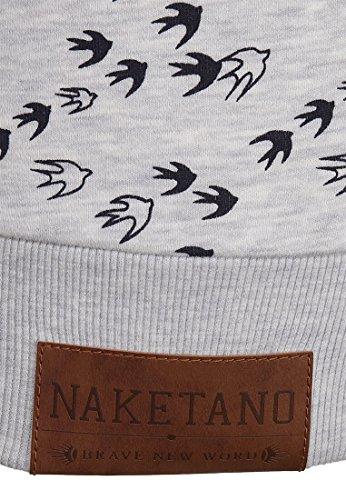 L Amazing Female Brazzo Zipped gel N Jacket Naketano Will Melange V Grey w6PCHxq