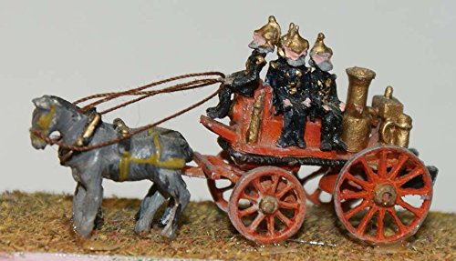Langley Models Shand Mason horse drawn fire engine N Scale UNPAINTED Kit E19