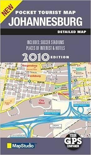 Pocket Tourist Map Johannesburg Map Studio 9781770261105 Amazon