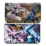 POKEMON for New Nintendo 3DS Skin New3DS N3DS Decal Sticker Vinyl Cover + Screen Protectors