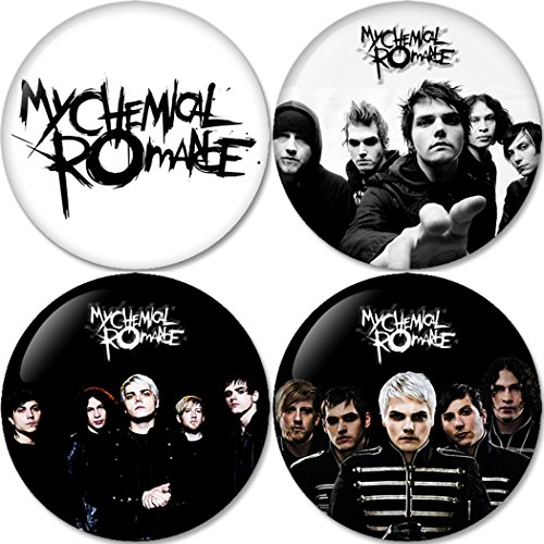 My Chemical Romance Buttons Badges/Pin 1.25 Inch (32mm)