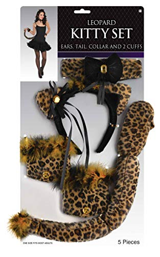 amscan Leopard Kitty Set -
