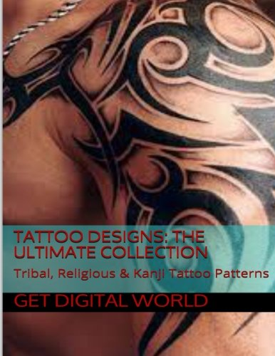 Tattoo Patterns: The Ultimate Collection: Tribal, Religious & Kanji Patterns]()