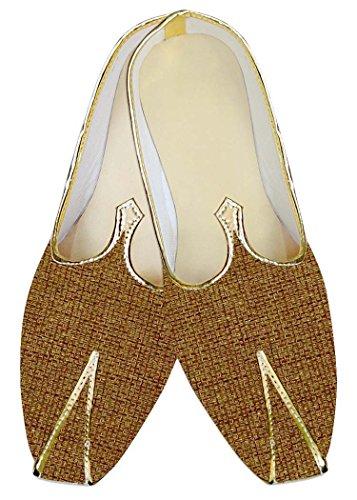 INMONARCH de boda Amarillo Novio MJ013928 Hombres Zapatos de yute zAq7zPw