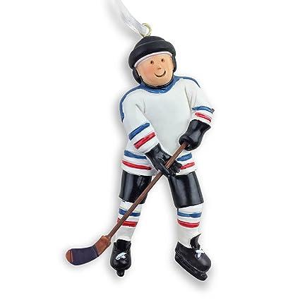 hockey player christmas ornament hockey ornaments by chalktalk sports - Hockey Christmas Ornaments