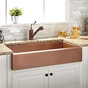 51ueYX8FtKL._SS300_ 75+ Best Copper Farmhouse Sinks For 2020