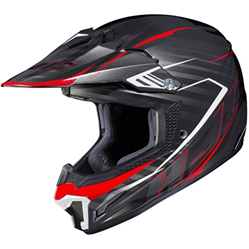HJC CL-XY 2 Blaze MC1 White/Black/Red Youth Motocross Helmet - Youth Medium