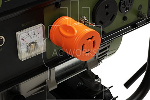 AC WORKS [ADL1430L1420] Locking Adapter 30Amp 4 Prong 125/250Volt L14-30P Locking Plug to L14-20R 20Amp 4Prong 125/250Volt Locking Female Connector Adapter by AC WORKS (Image #5)