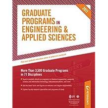 Graduate Programs in Engineering & Applied Sciences 2011 (Grad 5) (Peterson's Graduate Programs in Engineering & Applied Sciences)