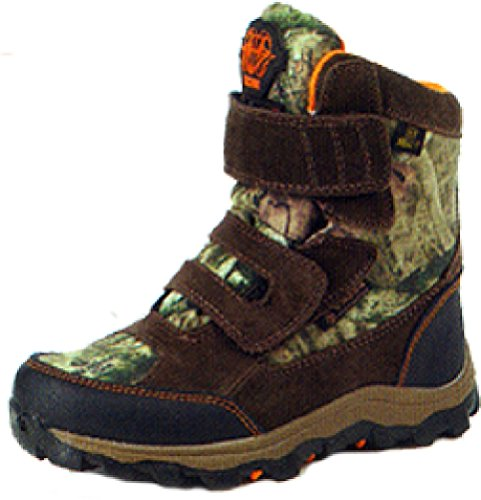 Rocky Boys' R.A.M. Waterproof Insulated Velcro Boot Round To